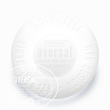 Elegant Large Pill With Embossed Text, Web Design