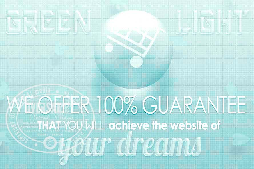 Lovely websites guarantee banner
