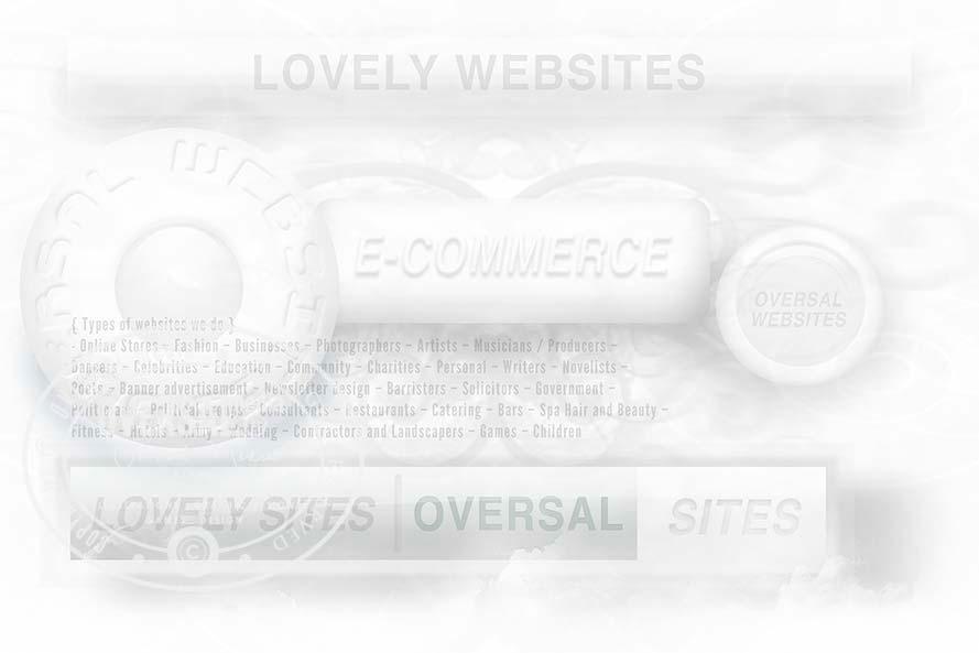 Variety of lovely websites banner