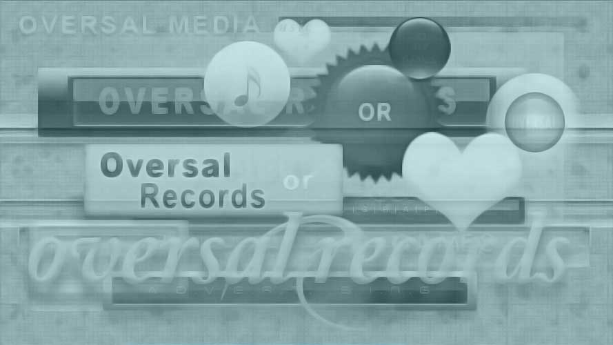Music Oversal records banner