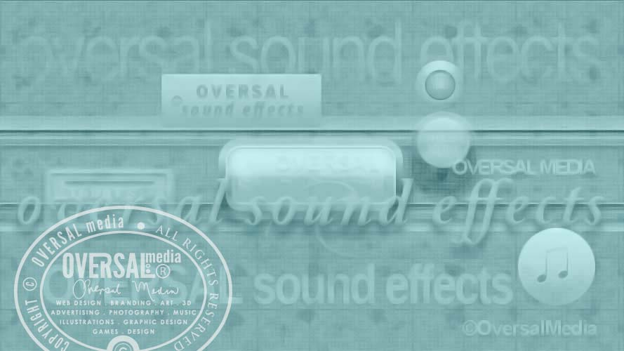 Music Oversal sound effects banner