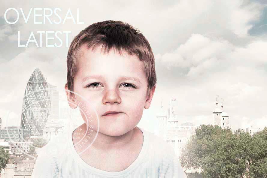 Portrait of thinking boy