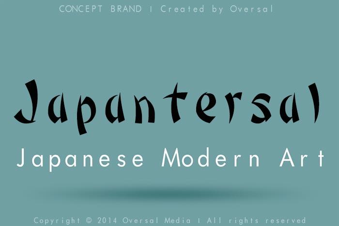 Japantersal concept brand