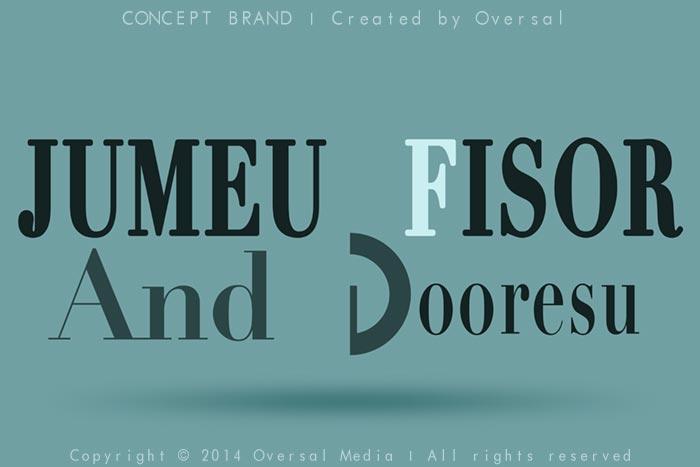 Jumeu Fisor And Dooresu concept brand