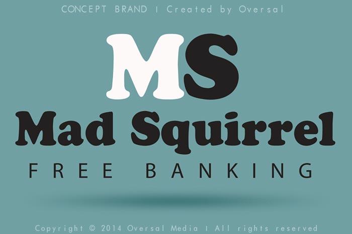 Mad Squirrel concept brand