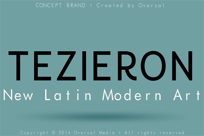 Tezieron concept brand